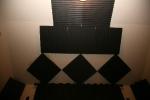 Acoustic foam above CC