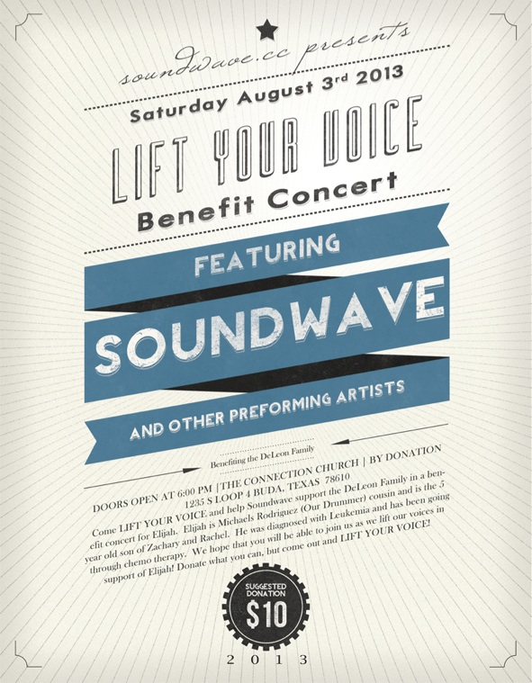 Soundwave Concert Flyer